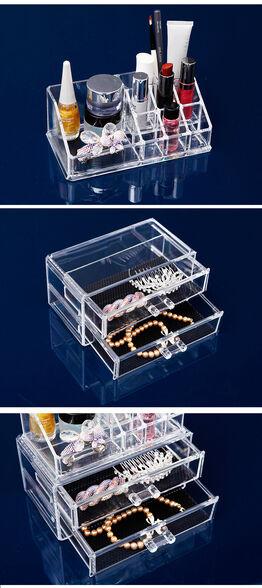 ארגונית איפור/תכשיטים כמוצר נפרד או משלים לשידת טואלט!, , large image number null