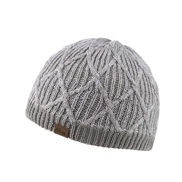 כובע צמר נשים AURORA מבודד ונעים למגע מבית GO NATURE_צבע אפור, , large image number null