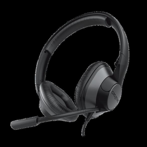 אוזניות גיימינג עם מיקרופון מובנה דגם Creative ChatMax HS-720 , , large image number null