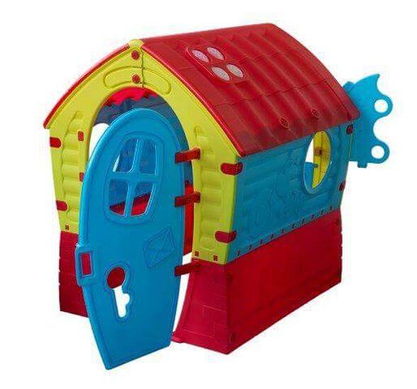 בית ילדים צבעוני לחצר מהאגדות עשוי פלסטיק תוצרת PALPLAY אירופה, , large image number null