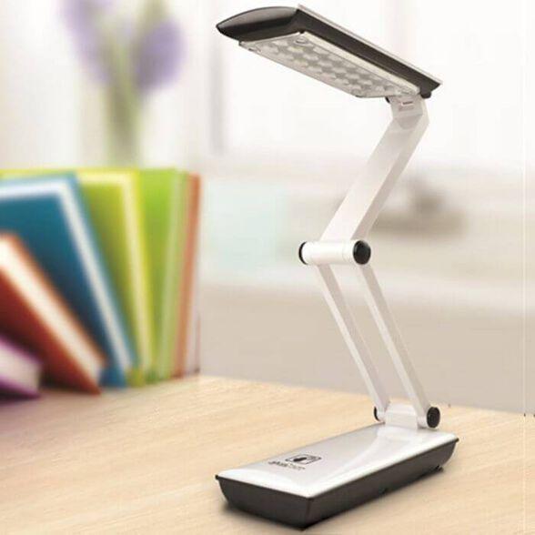 מנורת קריאה שולחנית 24 לדים עם סוללות / כבל USB, , large image number null