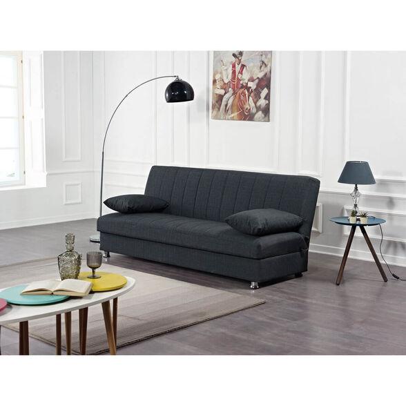 ספה נפתחת למיטה מבית BRADEX דגם Bono הכוללת ארגז מצעים גדול ומזרן עשוי מספוג בדרגות קושי שונות | צבעים לבחירה, , large image number null