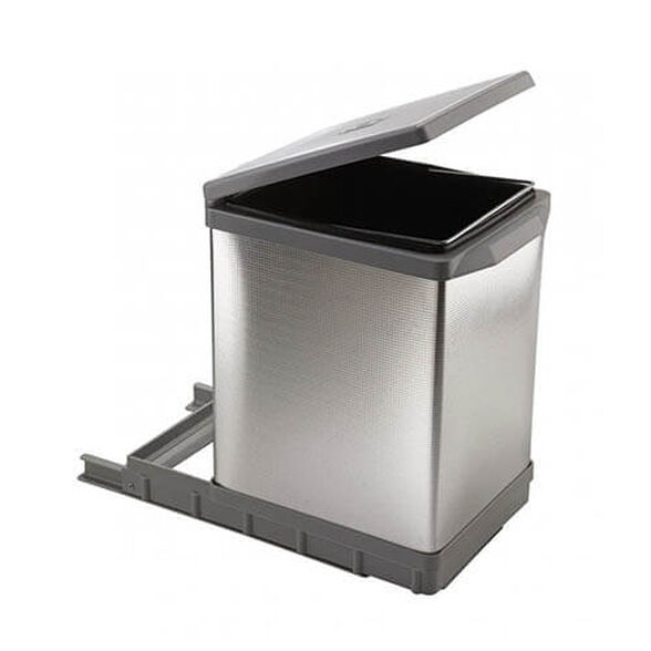 פח אשפה 17 ליטר נשלף למטבח  ELLITIPI, , large image number null