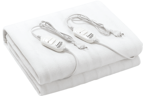 סדין זוגי בטיחותי ואיכותי במיוחד, בעל 3 רמות חימום, 2 מפסקי בקרה ומנגנון מפני חימום יתר   מעולה לחימום המיטה בחורף , , large image number null