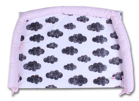 משטח החתלה לשידה עם כיסוי 100% כותנה - ורוד בהיר, , large image number null