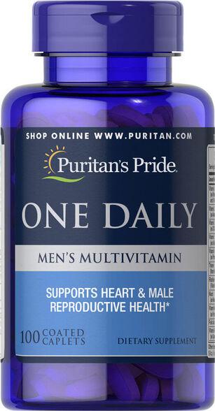 מארז 90 קפסולות מולטי-ויטמין יומיומי לגברים | יחידה שנייה בהנחה נוספת, , large image number null