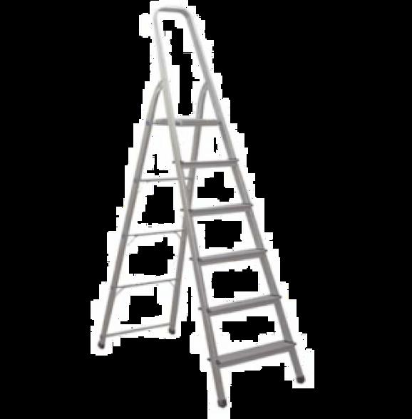 סולם אלומיניום תיקני 6 שלבים –  SHAZAR, , large image number null