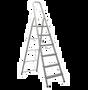 סולם אלומיניום תיקני 6 שלבים –  SHAZAR