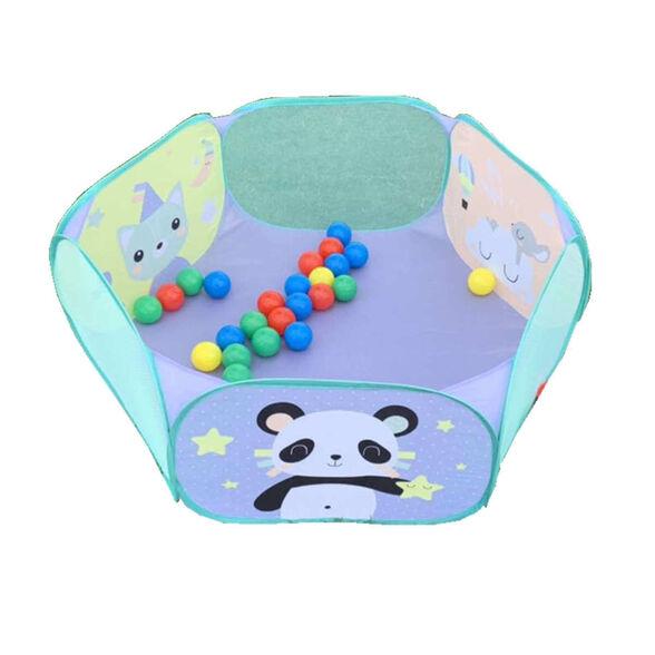 בריכת כדורים צבעונית לפעוטות וילדים כולל תיק נשיאה לניידות קלה S-free, , large image number null