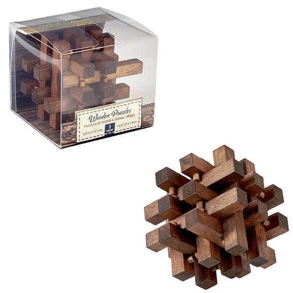 משחק חשיבה מעץ במארז משחקי אתגר ליצירת חשיבה בריאה, , large image number null