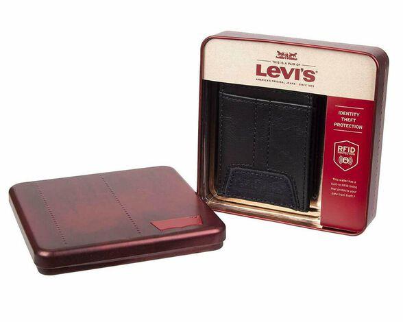 ארנק מעוצב מעור ליוייס   LEVIS, , large image number null