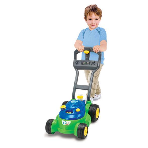 להיט בינלאומי ענק! bubble n go mower מכסחת דשא אינטרקטיבית מדליקה לילדים עם בועות סבון מבית B KIDS לשעות של הנאה | לגילאי 3 ומעלה, , large image number null