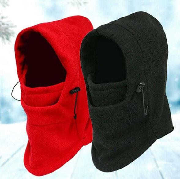 כובע פליז רב תכליתי משולב חם צוואר דגם ווינד בלוק  Wind Block | הגנה אולטימטיבית מפני קור, רוח, אבק וקרני UV, , large image number null