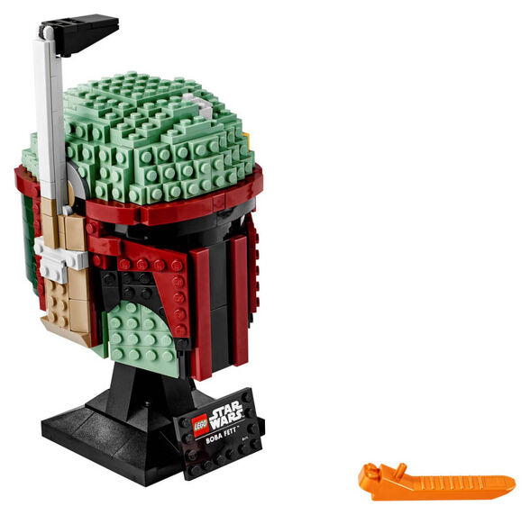 LEGO לגו מלחמת הכוכבים - הקסדה של בובה | דגם 75277, , large image number null