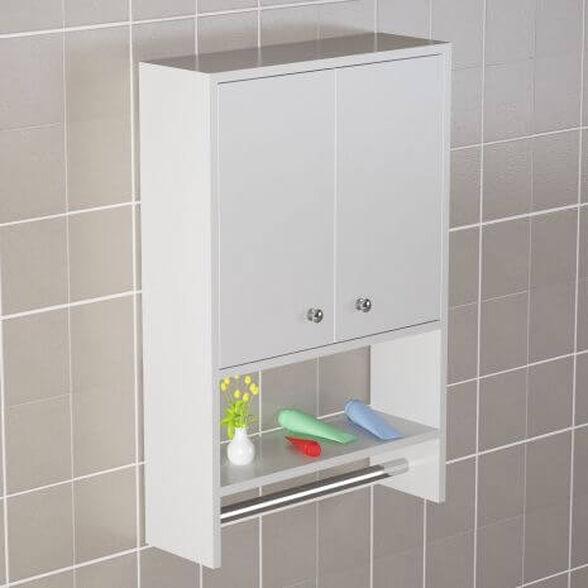 """ארונית אחסון מעוצבת לחדר האמבטיה 90X60 ס""""מ  דגם ויקי, , large image number null"""