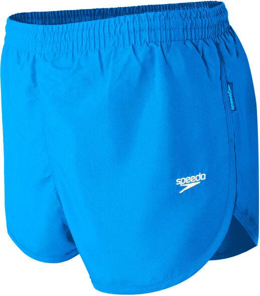 מכנסי ריצה וספורט לגבר בצבע רויאל של חברת speedo, בגזרה נוחה עם שסע, , large image number null