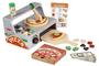 דלפק ותנור להכנת פיצה Melisssa & Doug | עשוי עץ, מכיל 34 חלקים | דגם 9465