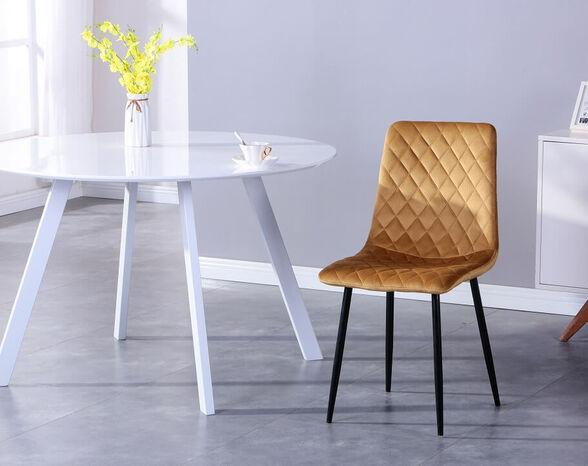 כסא לפינת אוכל נוח ומעוצב דגם 1021 מבית TAKE IT_חרדל , , large image number null