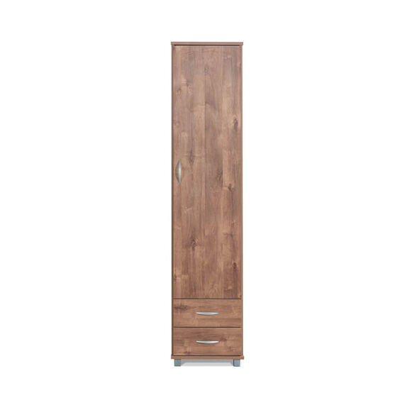 ארון דלת אחת 2 מגירות לשימוש כארון שירות או בגדים במגוון צבעים דגם תומר מבית רהיטי יראון תוצרת ישראל_שיטה, , large image number null