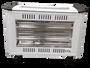 תנור אינפרא 2050W 2+2 לבן עוצמתי במיוחד בטיחותי בעל עיצוב חדיש ופרקטי אידיאלי לשימוש בחדרי הורים וילדים