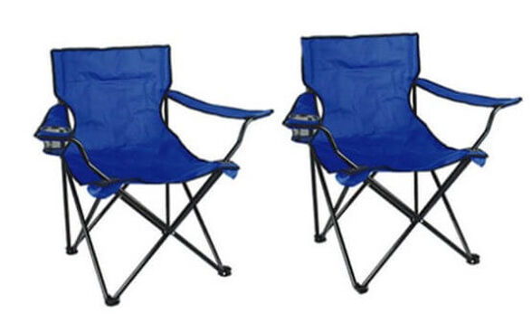 זוג כסאות במאי עם ידיות ומעמד לכוס שתיה + תיק לאכסון | מגוון צבעים לבחירה, , large image number null
