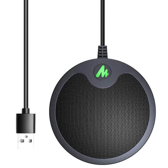 מיקרופון איכותי לחדרי ישיבות בחיבור USB - דגם BM10 -  מתאים גם לZOOM, SKYPE וגיימינג. , , large image number null