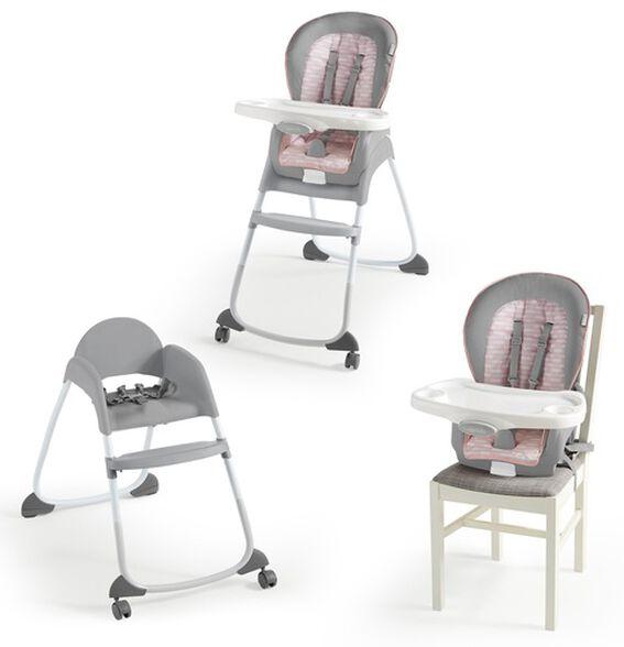 כיסא אוכל הופך לבוסטר טריו 3 ב-1 - צבע פלורה, , large image number null