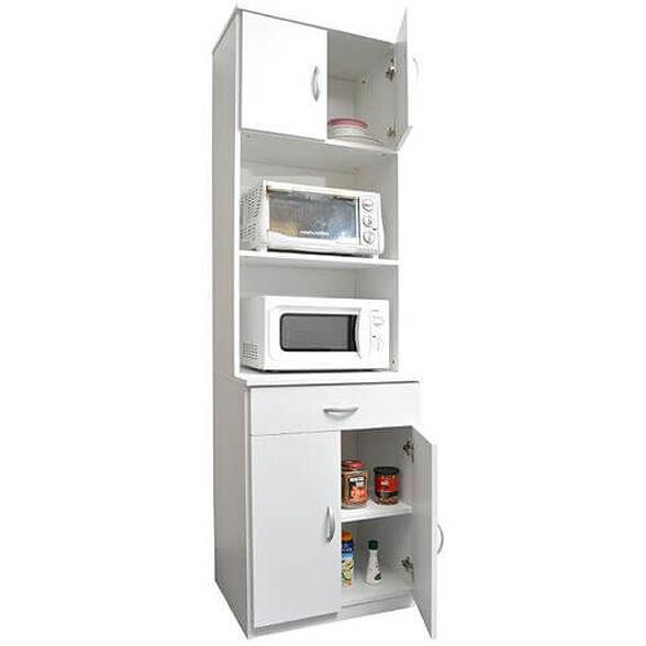 ארונית מטבח ניידת למיקרוגל, טוסטר ולמצרכים בסביבת המטבח, , large image number null