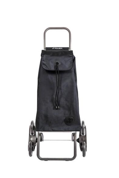 עגלה 6 גלגלים מעולה למדרגות בצבע שחור | ROLSER, , large image number null