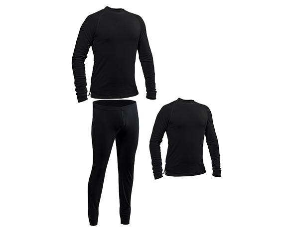 ביגוד תרמי מקצועי לחורף, סט הכולל 2 חולצות ומכנסיים ארוכים, מחממים במיוחד מסדרת ASPEN BASIC, , large image number null