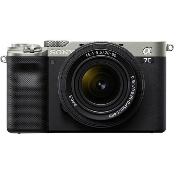מצלמת סטילסFull Frame 35mm  מסדרת אלפהMirrorless  גוף + עדשה 28-60 מבית SONY , , large image number null