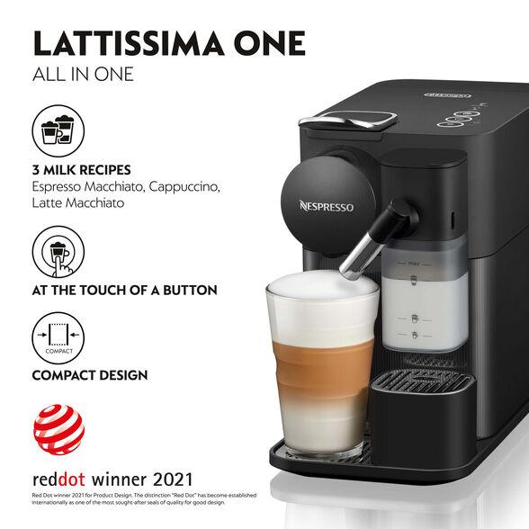 מכונת קפה NESPRESSO לטיסימה One בצבע שחור דגם F121, , large image number null