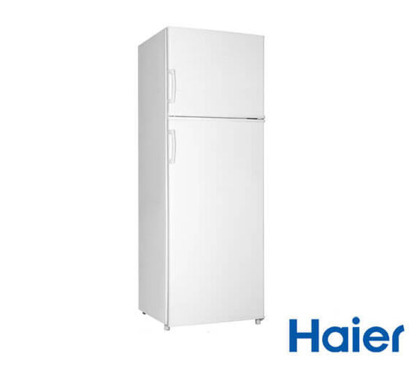 מקרר האייר מקפיא עליון  נפח 311 ליטר De frost שקט במיוחד עם תאורה פנימית בגימור לבן דגם HDF-365  , , large image number null