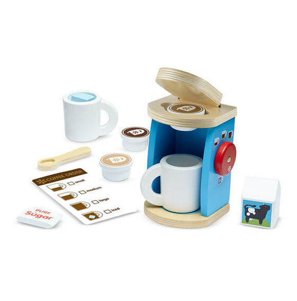 מליסה ודאג סט מעץ להכנת והגשת קפה, , large image number null