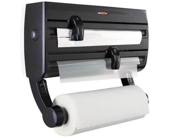דיספנסר למטבח מתקן משולב לגלילים PARAT F2 עם סכיני חיתוך אינטגרלים מכיל נייר ניגוב, רדיד אלומיניום, , large image number null