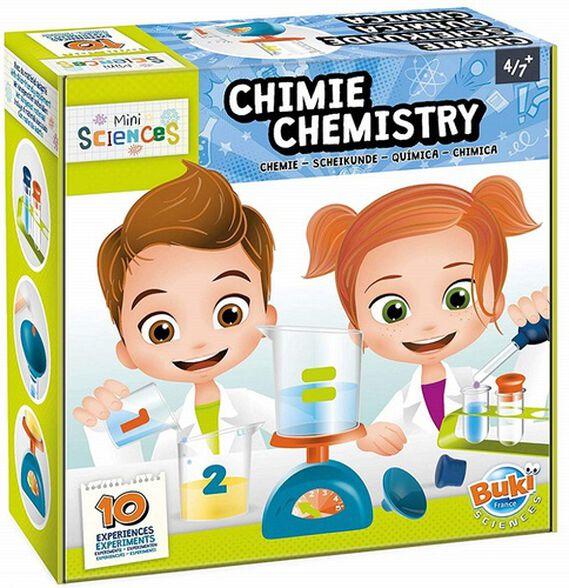 מיני מעבדת מדעי הכימיה 10 ניסויים לילדים, , large image number null