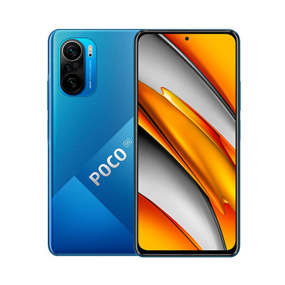 סמארטפון דגם POCO F3 5G בנפח 256GB , מעבד שמונה ליבות ומערך צילום אחורי משולב 3 חיישנים , , large image number null