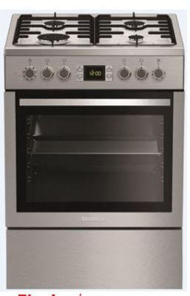 תנור אפיה משולב כיריים תא אפייה ענק 65 ליטר תוצרת Blomberg | דגם HGN8433  , , large image number null
