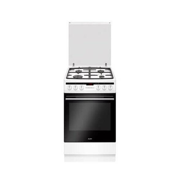 """תנור משולב כיריים 50 ס""""מ ,נפח תא אפייה 65.5 ובעל טריקה שקטה השומרת על צירי התנור מבית SAUTER דגם ELEGANT3650W , , large image number null"""