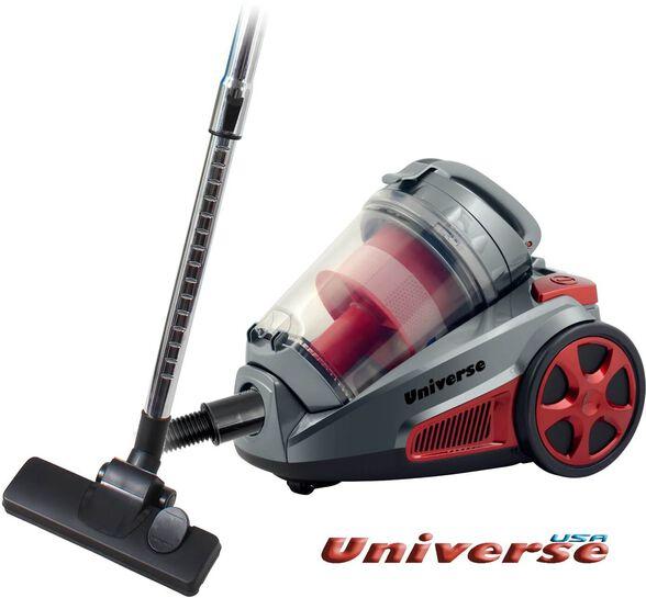 שואב אבק UNIVERSE ציקלון חשמלי, מברשת נירוסטה מתכווננת לניקוי שטיחים ורצפה, הספק: 2000W , , large image number null