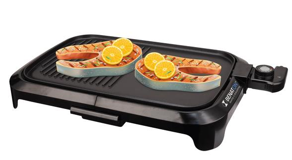 גריל פלנצ׳ה חשמלי BBQ איכותי +Premium Quality   איכותי ועוצמתי במיוחד 1600W , , large image number null