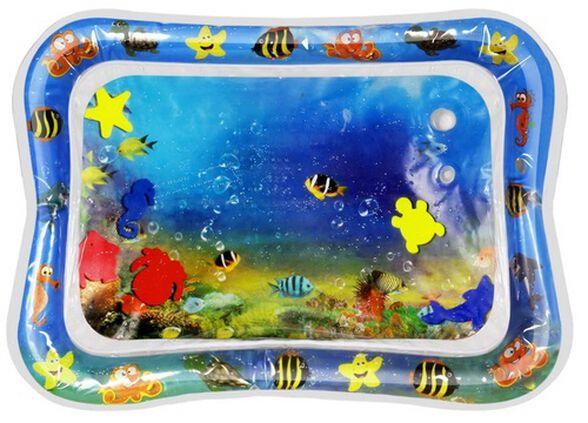 משטח מים תחושתי גדול לתינוק - חיות ים, , large image number null