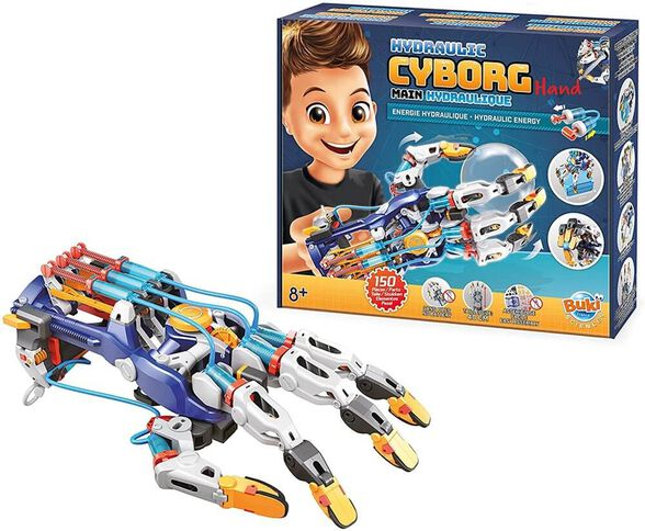 זרוע רובוטית משחק הרכבה לילדים Hydraulic Robot Arm מבית בוקי צרפת, , large image number null