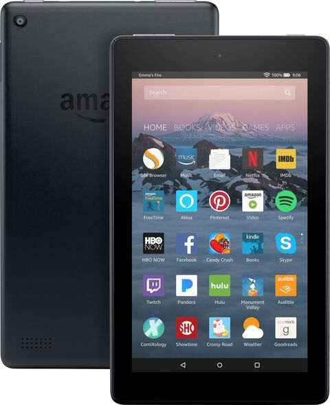 """טאבלט New Amazon Fire Tablet 7"""" Tablet 16GB - הדגם החדש 2019 , , large image number null"""