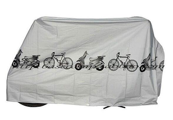 כיסוי איכותי עשוי ניילון אטום למים - לשמירה והגנה על אופניים, אופניים חשמליים, אופנועים ועוד, , large image number null