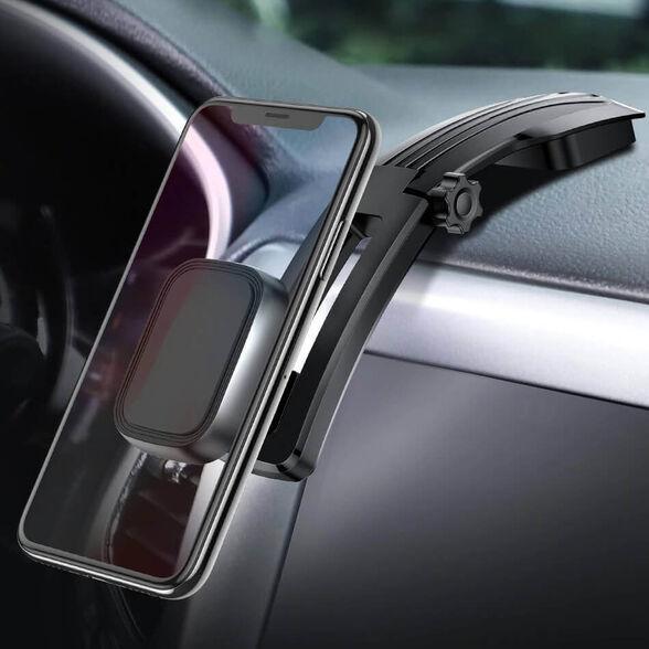 מעמד מגנטי מתכוונן לרכב לדשבורד - חזק במיוחד -  מתאים לכל סוגי הסמארטפונים ולכל הרכבים, , large image number null