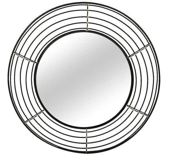 מראת קיר עגולה גדולה דגם סנדרה מבית TUDO DESIGN, , large image number null