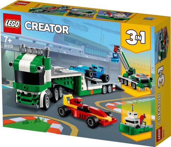 LEGO לגו קריאטור - מוביל מכוניות מרוץ | דגם 31113, , large image number null