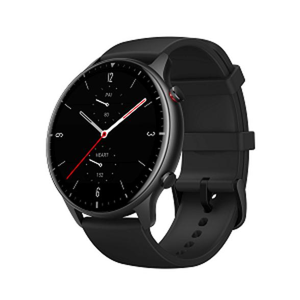 שעון חכם אלגנטי עמיד למים עד ATM 5 מבית Amazfit מסדרת GTR 2 Sport Black, , large image number null