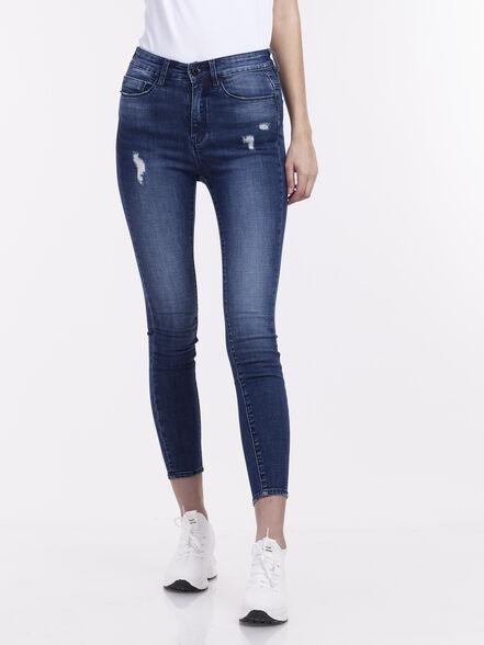 ג'ינס קרעים בהיר, , large image number null